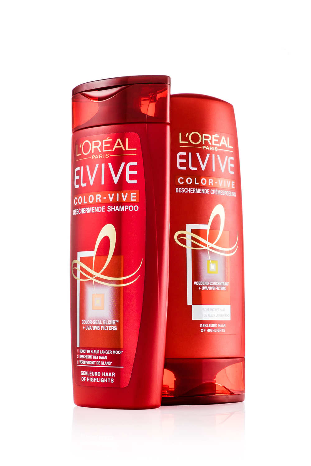 L'oréal Elvive shampoo and conditioner