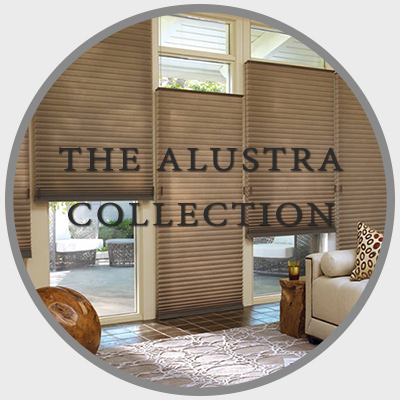 Allustra Collection Shades, Sheers and Blinds