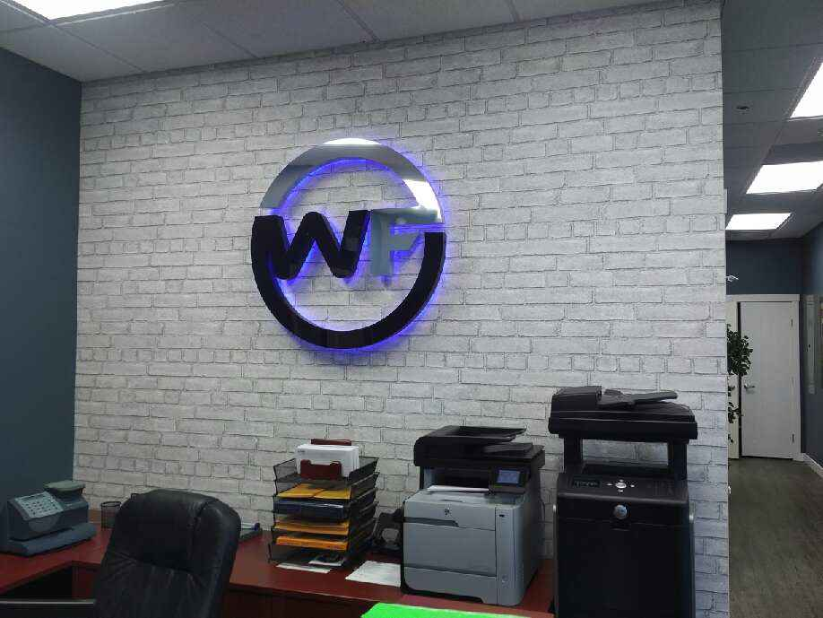<p><strong></strong> Days Custom Design - Wallpaper & Roller Shades - Weber Financial, Saskatoon