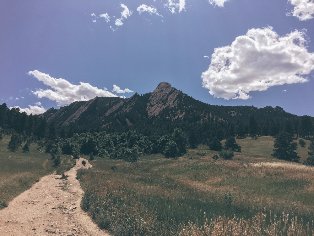 The Flat Irons - Boulder, CO