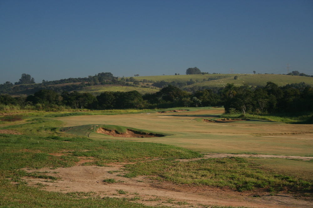 The first hole at Fazenda Boa Vista (Palmer) during grow in