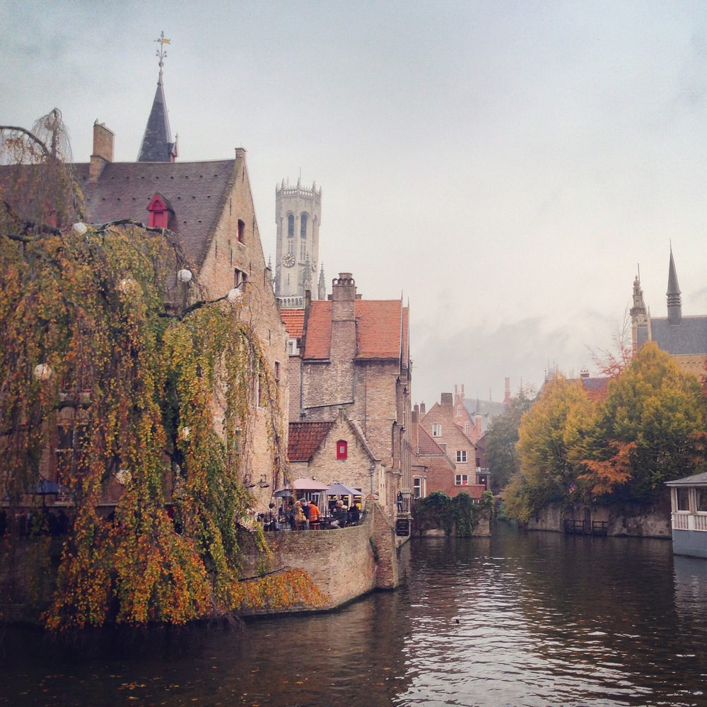 Mysterious, medieval Brugge with its canals and old winding streets