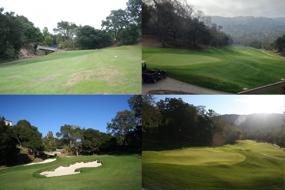 The revamped 18th at Orinda: more contour, more playable, more fun