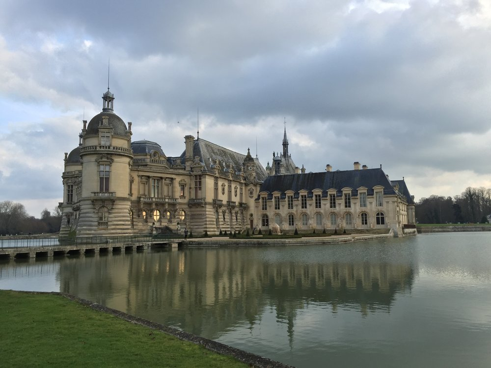 A treat to visit a site studied in college landscape architecture history class--Chateau Chantilly