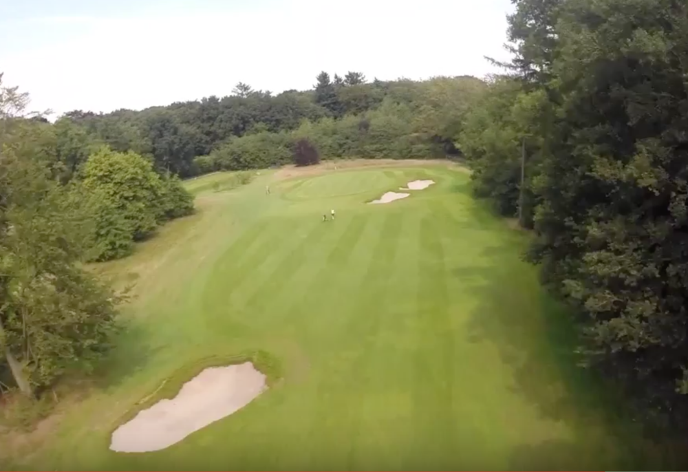 Hole 4 Drone Fairway