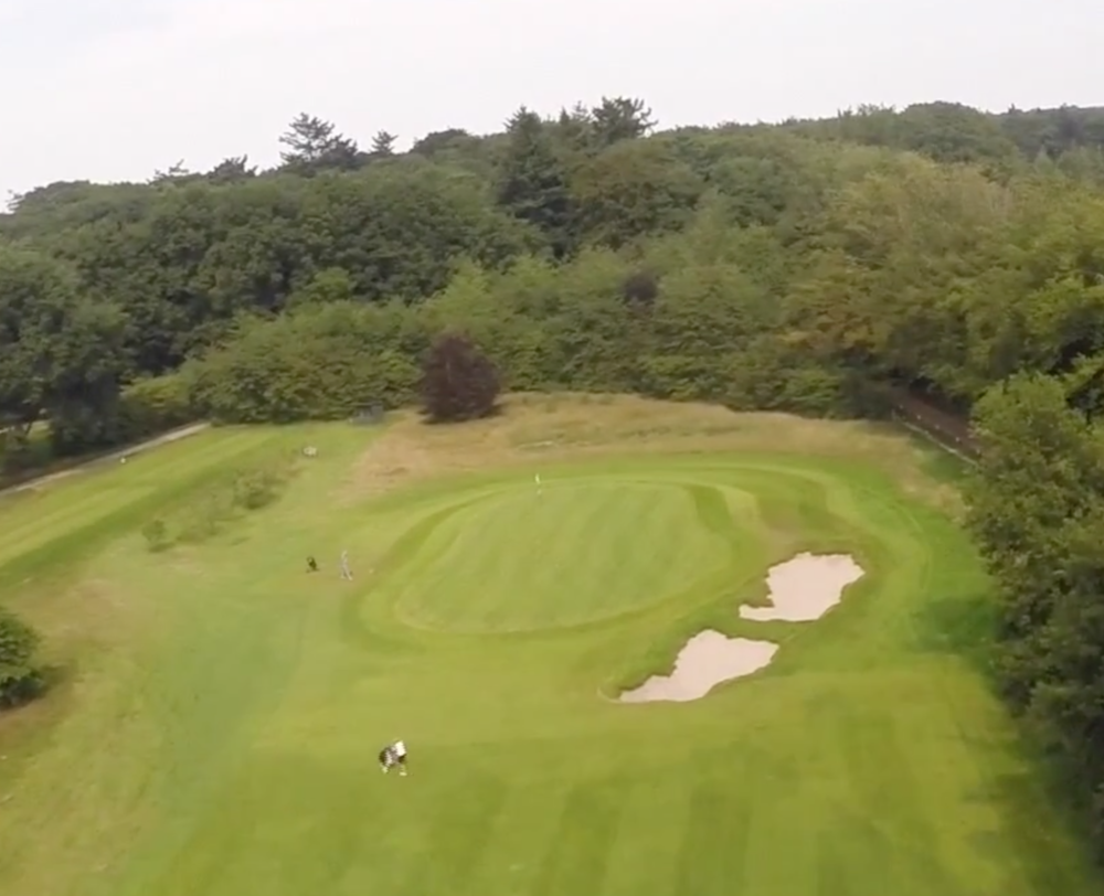 Hole 4 Drone Green