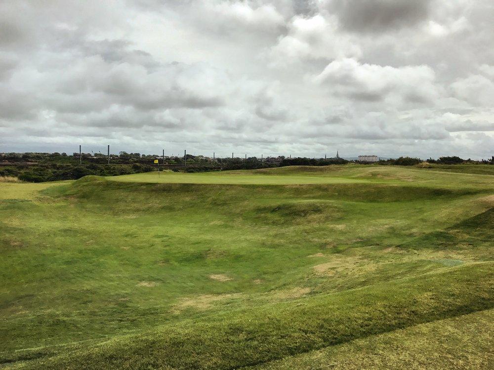 Irvine Hole 3 Approach