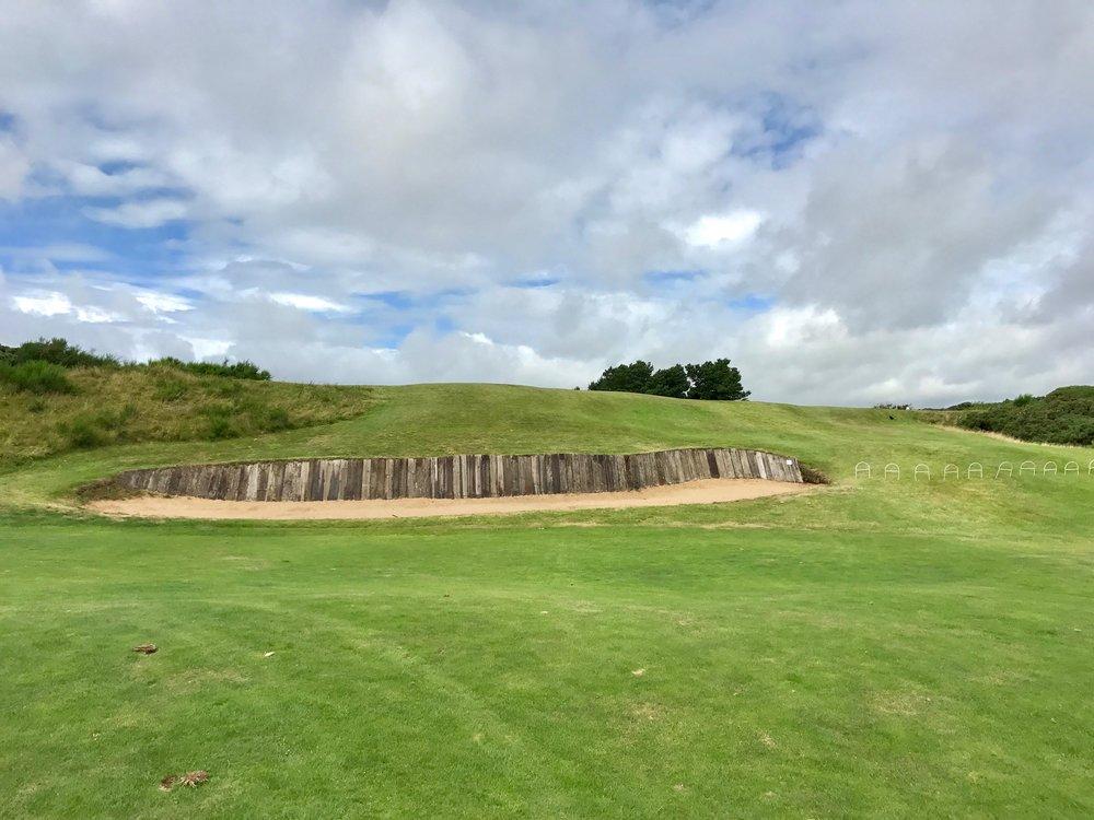 Irvine Hole 5 Approach