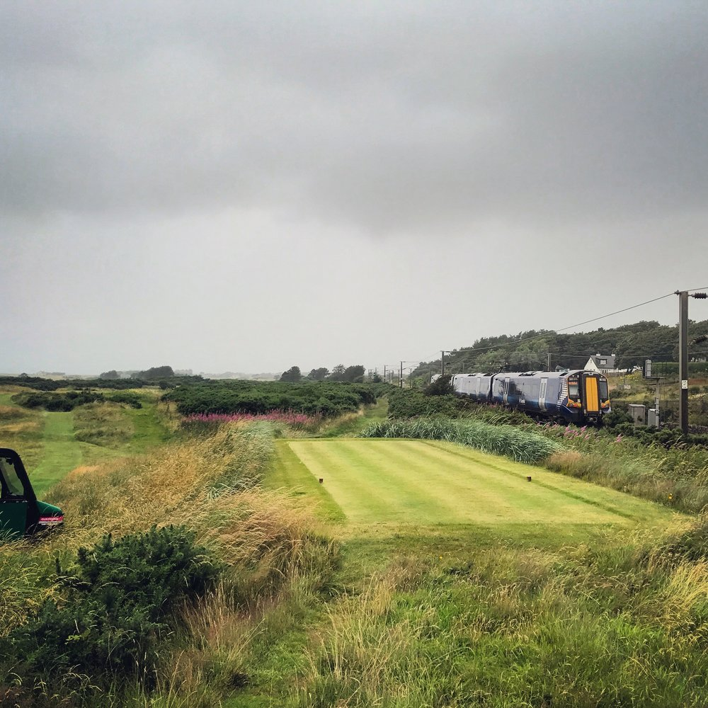 The Railway Hole at Troon is the hardest hole on The Open Rota, and it looks even harder in person.