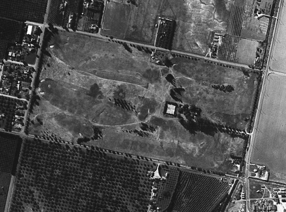 The original Saticoy 9 in 1938. A lot of bunkers had clearly already been filled in, a trend during the Depression-Era 30s.
