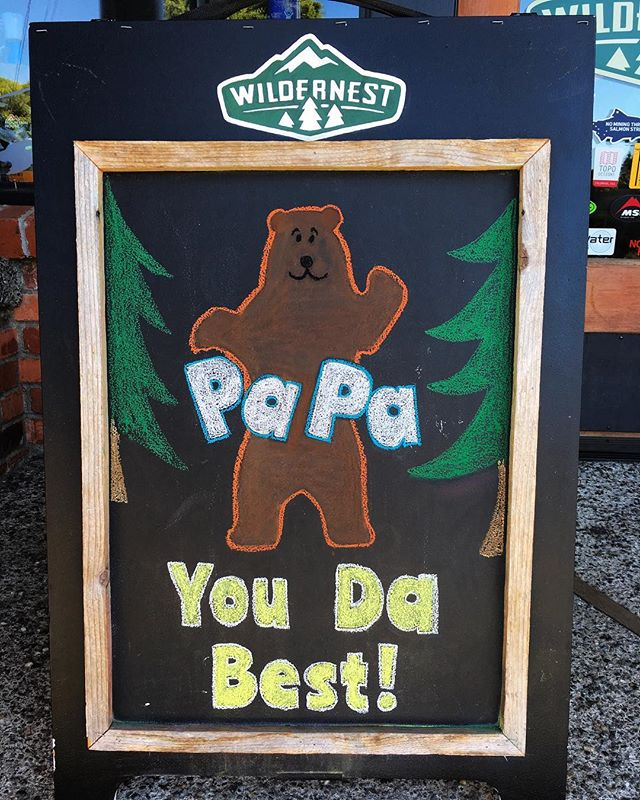 Happy Father's Day to all those papa bears! . . . #fathersday #papabear #wildernest #outdoorstore #shoplocal #smallbusiness #bainbridge #98110
