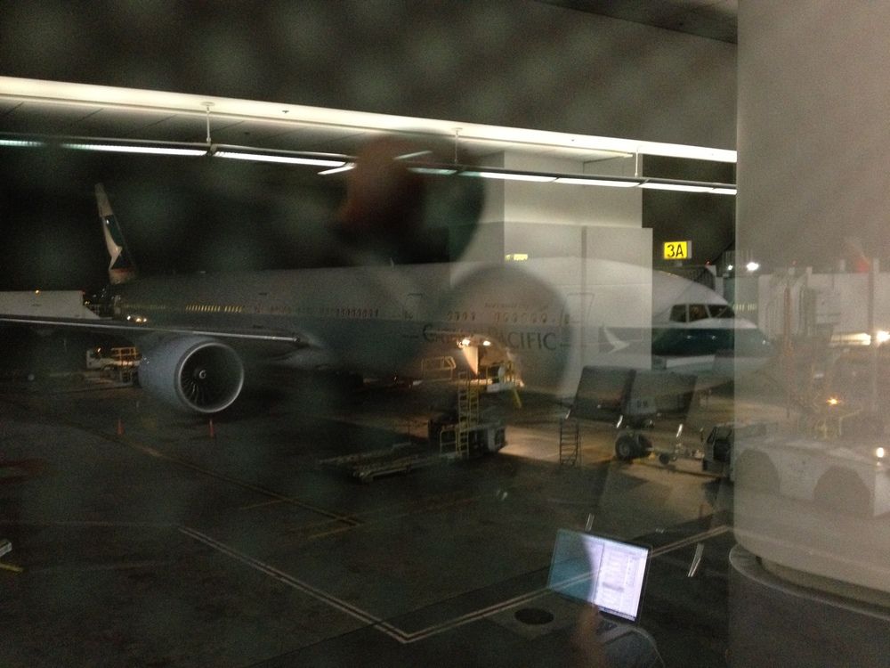 Boeing 777 - 300. Very nice airplane. First time to take it.