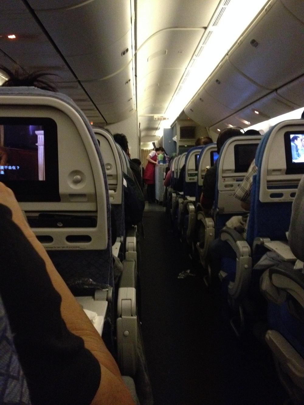 Inside Boeing 777 -300