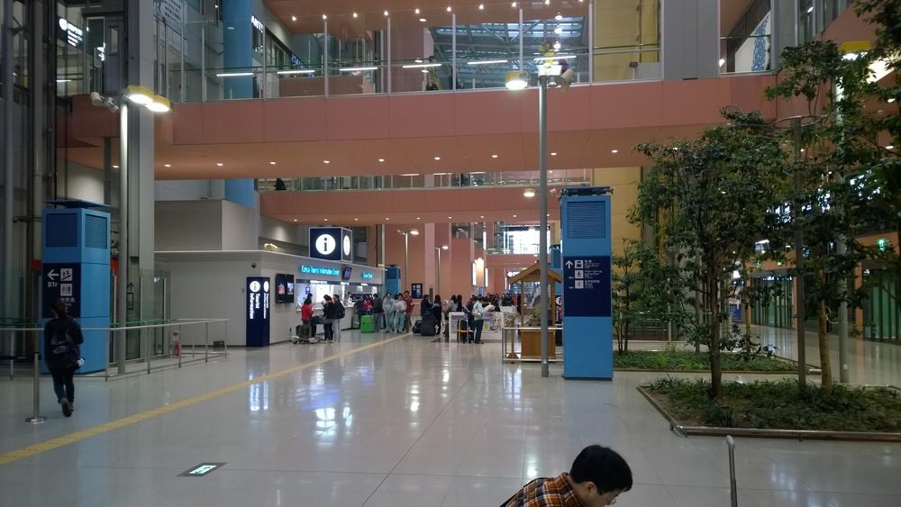 Kansai International airport in Osaka