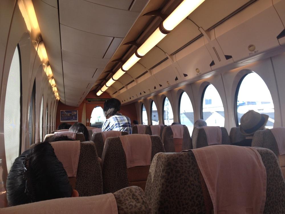 Taking the last train in Japan