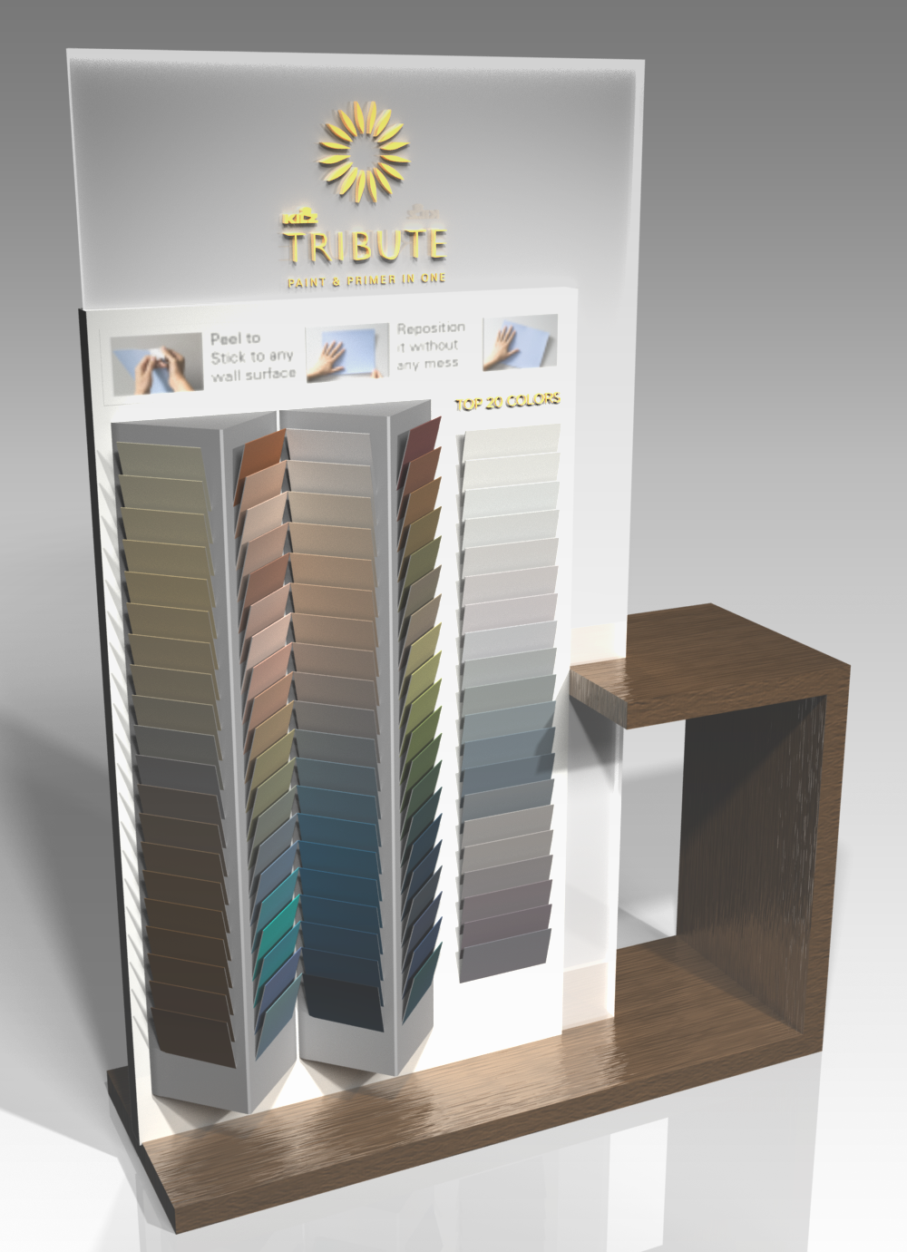 KILZ® TRIBUTE™ PAINT - FLOORING AMERICA KIOSK