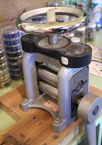My rolling mill--one of my favorite tools
