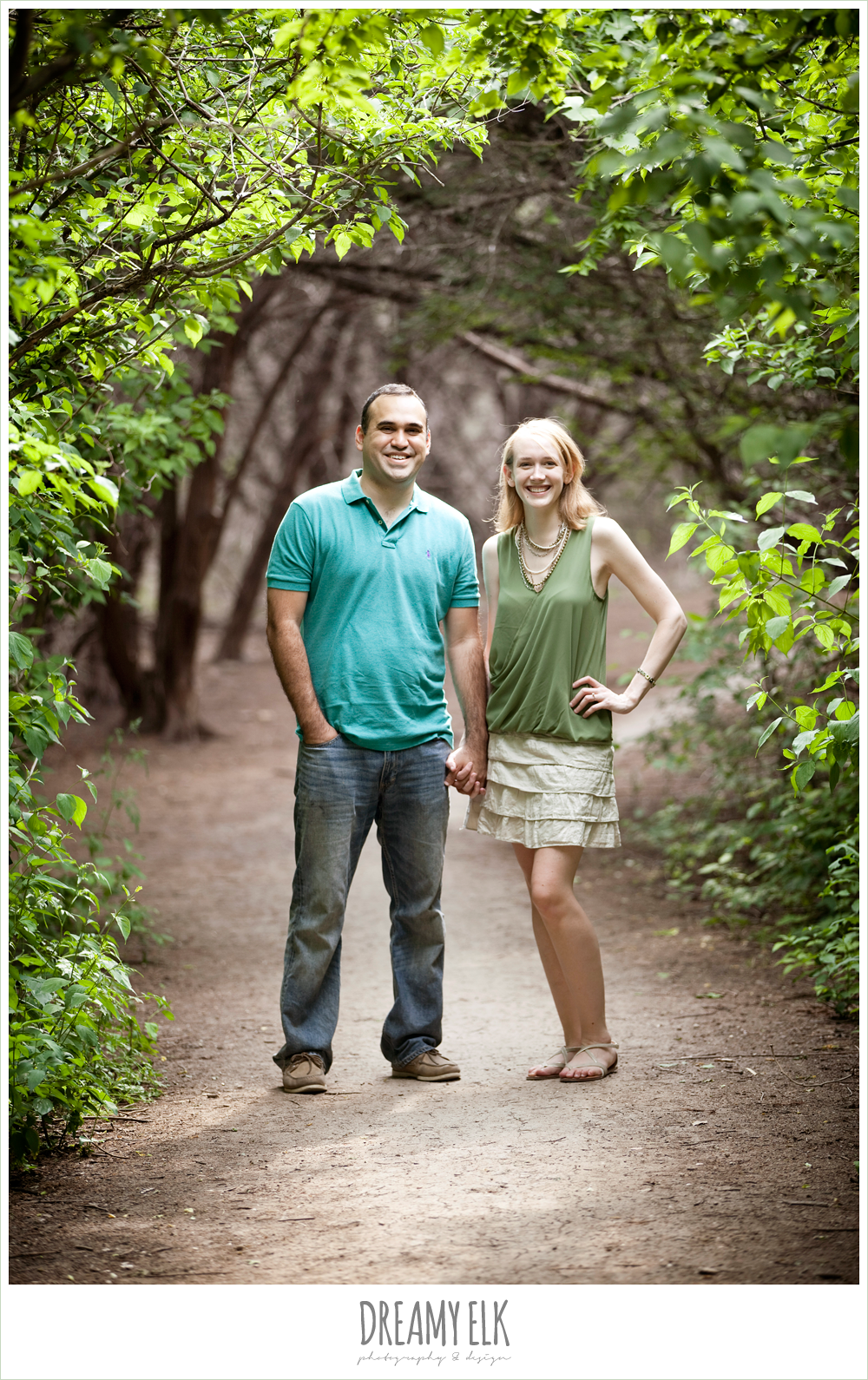 3 mallory and esteban engagements, walnut creek park, austin, texas