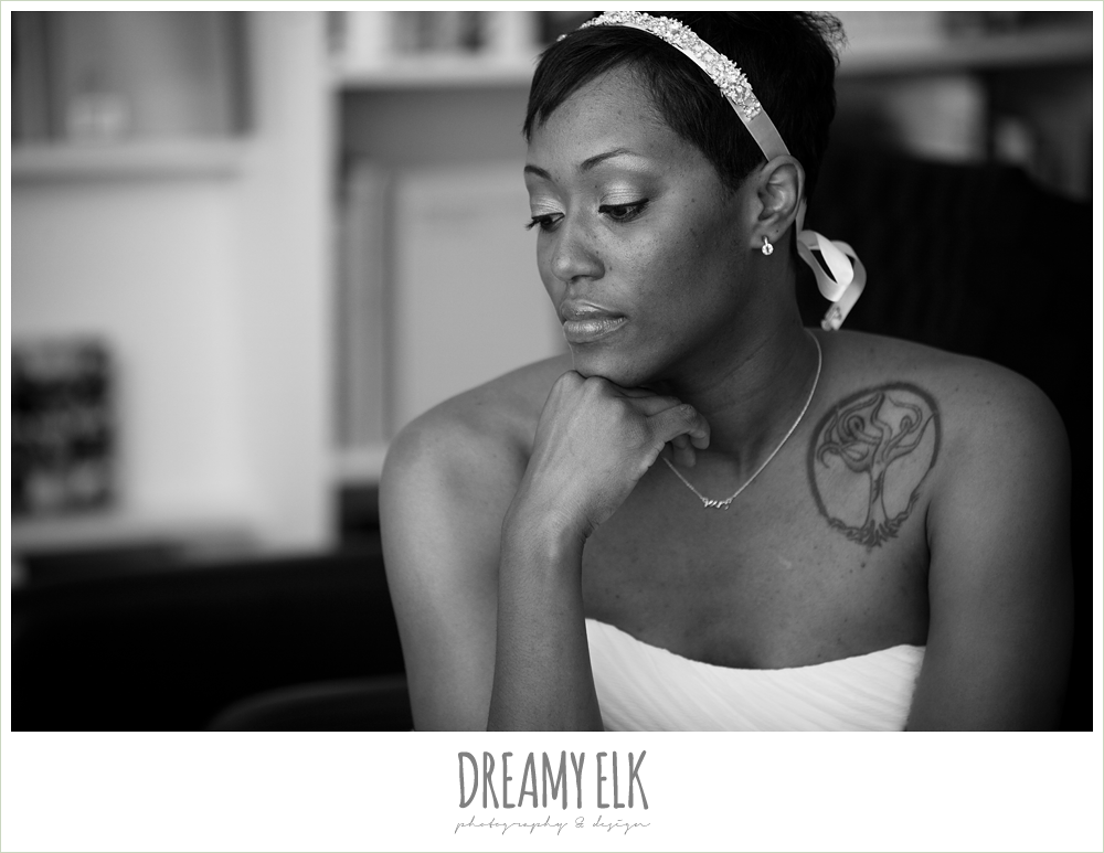 3 bre'onna, brazos bookstore bridals, bride with tattoos