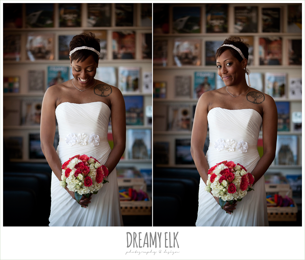 4 bre'onna, brazos bookstore bridals, bride with tattoos