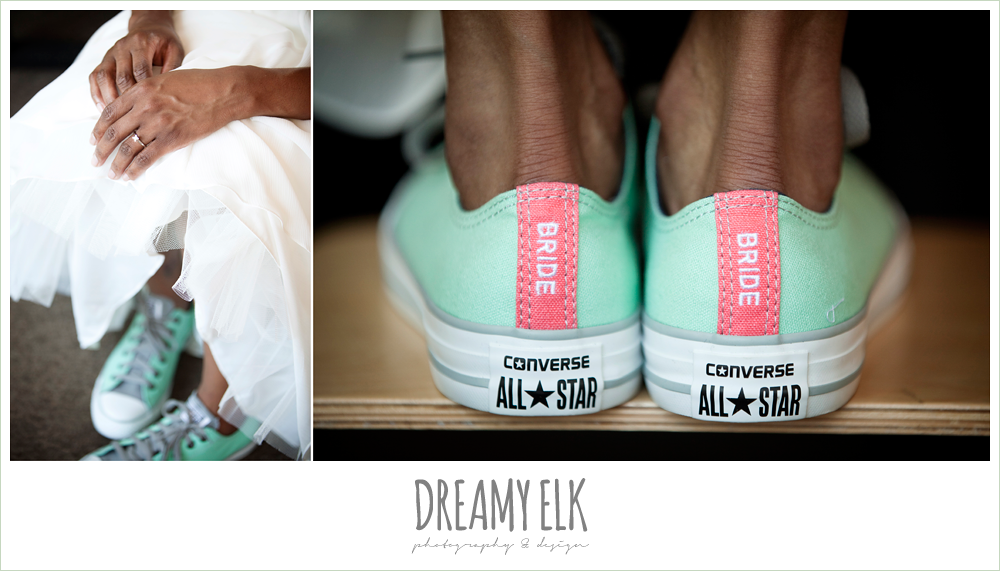 7 bre'onna, brazos bookstore bridals, custom converse shoes