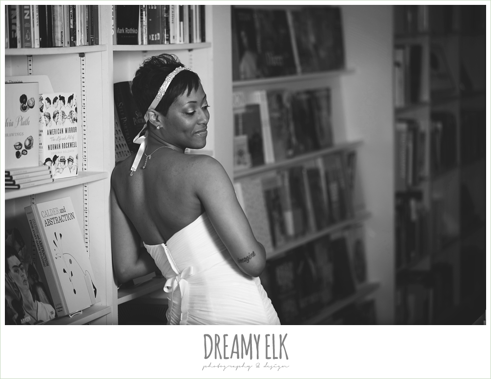 8 bre'onna, brazos bookstore bridals, bride with tattoos