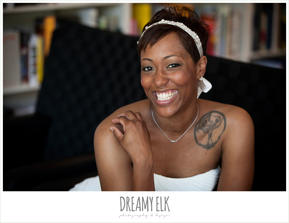 10 bre'onna, brazos bookstore bridals, bride with tattoos