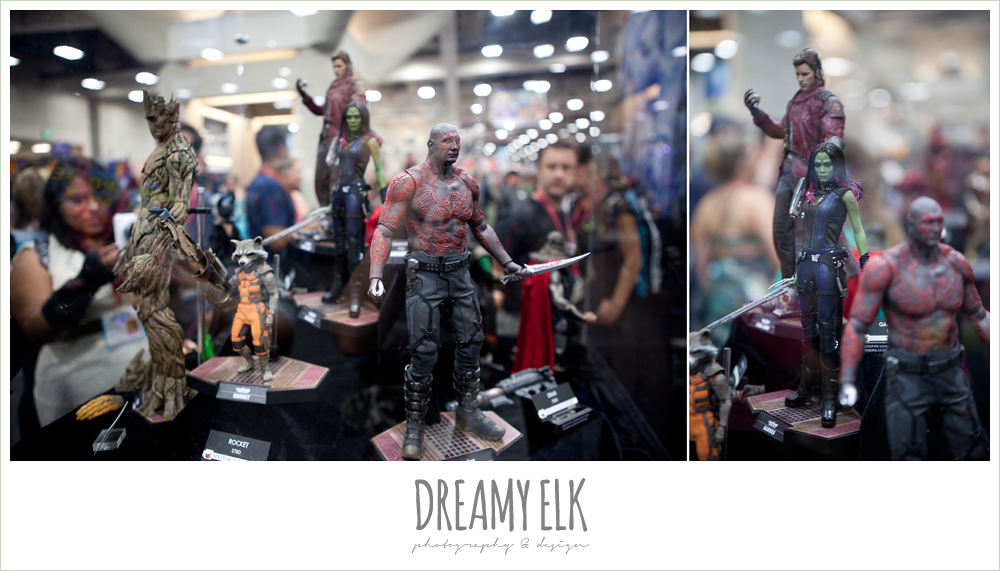 guardians of the galaxy figurines, comic con 2014