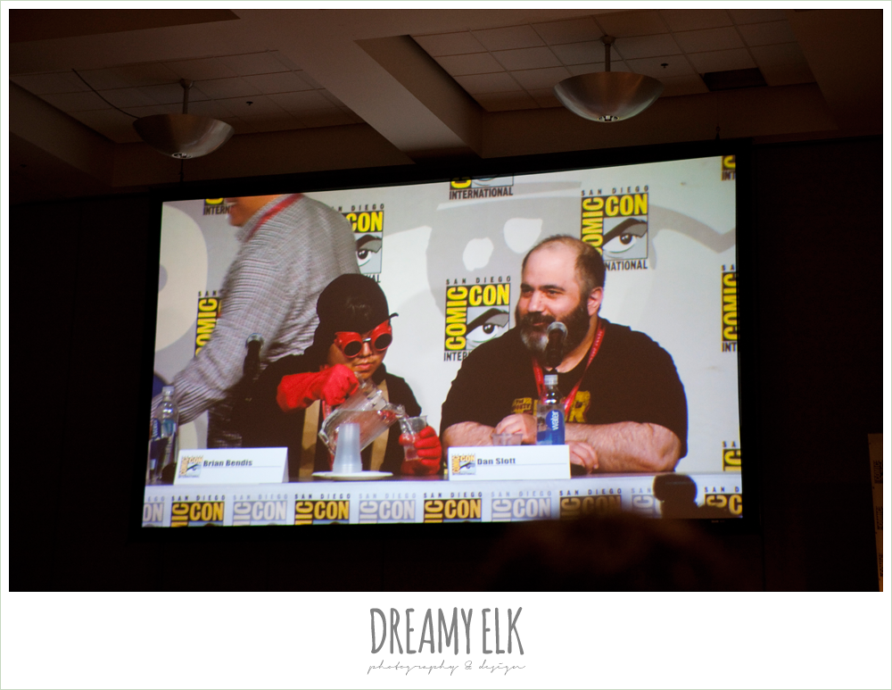marvel comic panel, spider-minion, comic con 2014