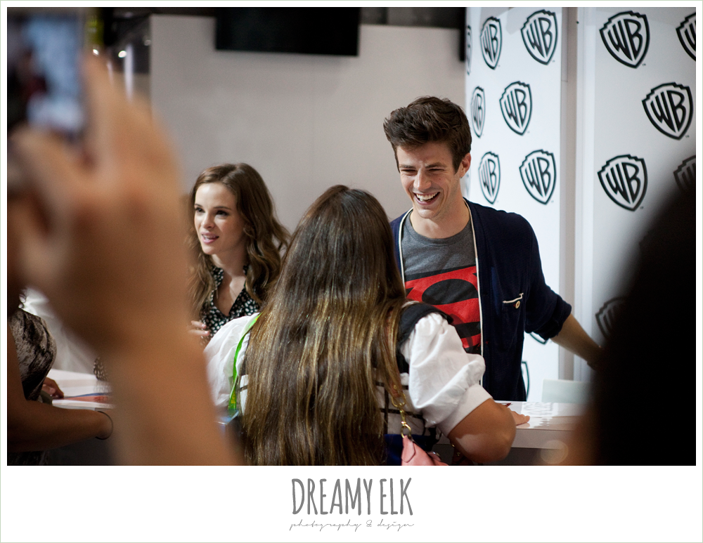 Grant Gustin & Danielle Panabaker (The Flash)