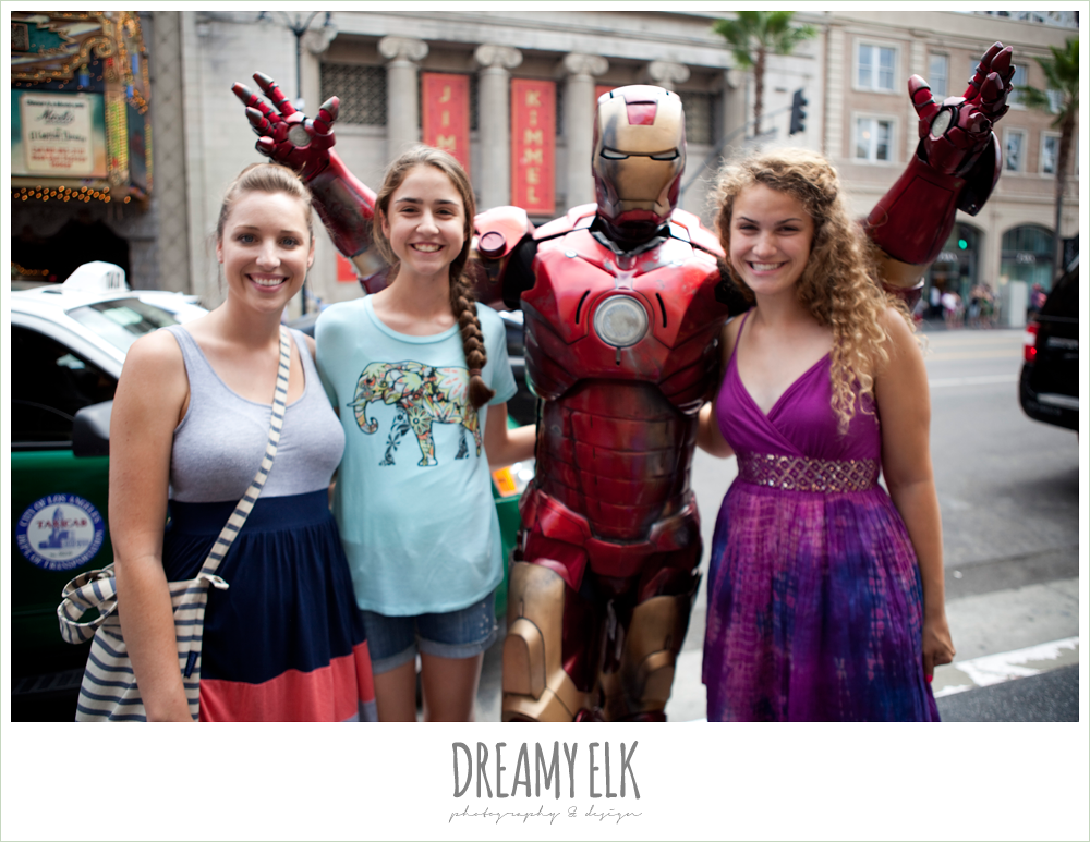 iron man, hollywood boulevard