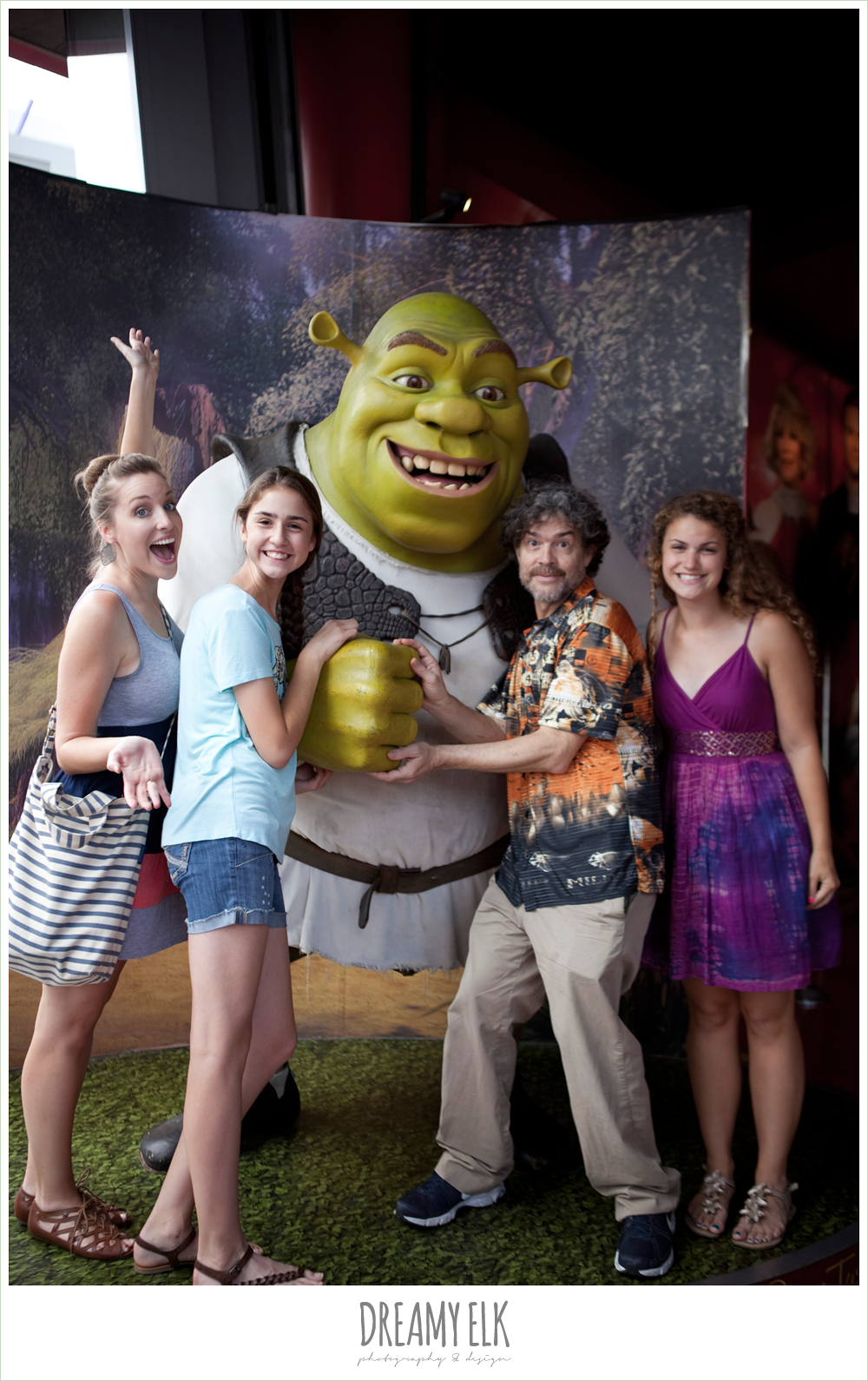 shrek, hollywood boulevard