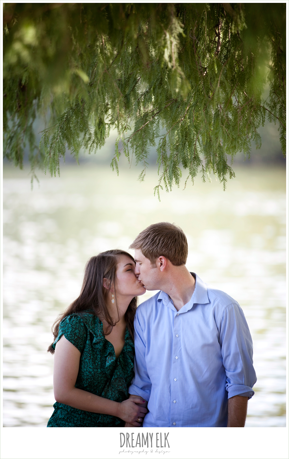 red bud isle, austin engagement photo