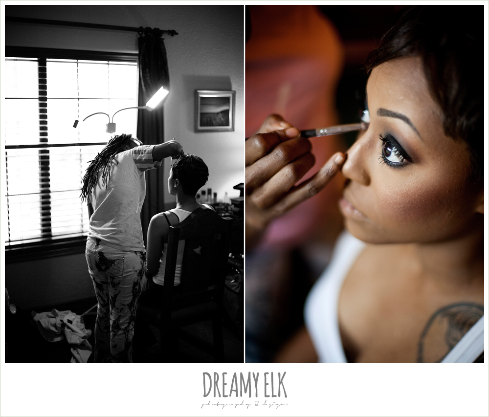 bridal makeup, dreamy elk photography and design