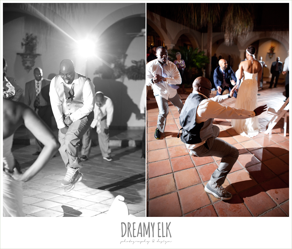 groom dancing at reception, northwest forest conference center, dreamy elk photography and design