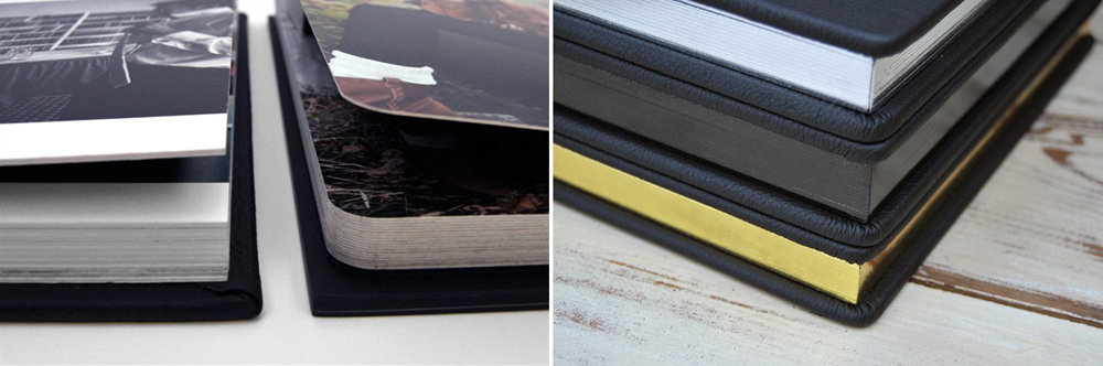 corners & edge gilding