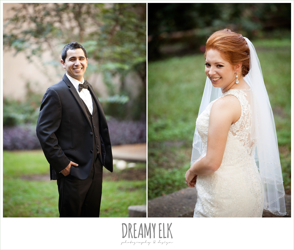high-necked lace wedding dress, classic wedding tuxedo, dreamy elk photography and design