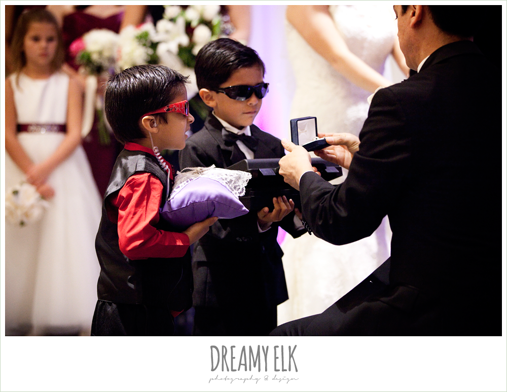 funny ring bearer, ring security, dreamy elk photography and design