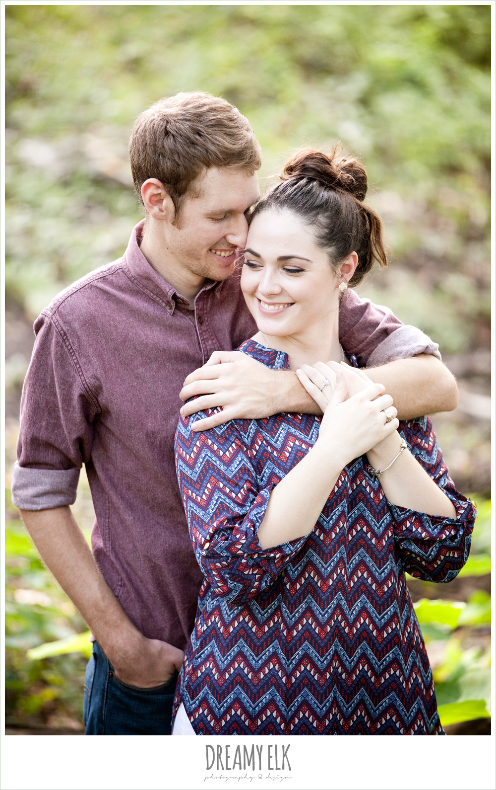 ashley & andrew, engagement photo contest, sam houston park