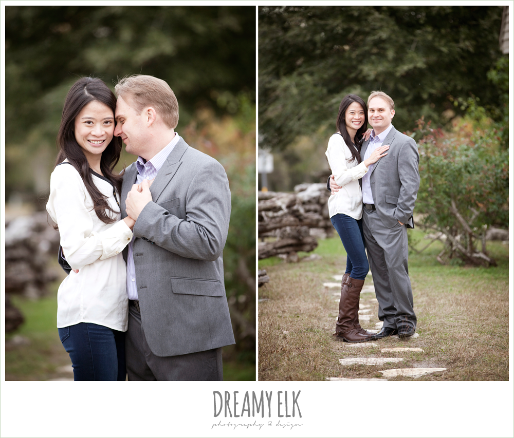 shin and derek, winter engagements, dreamy elk photography and design