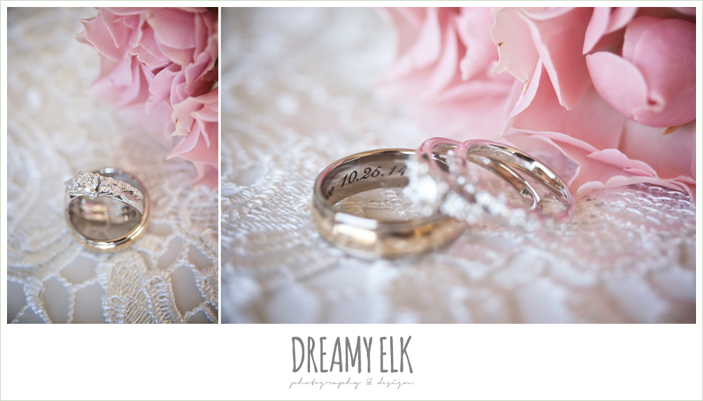 wedding rings, october wedding, dreamy elk photography and design