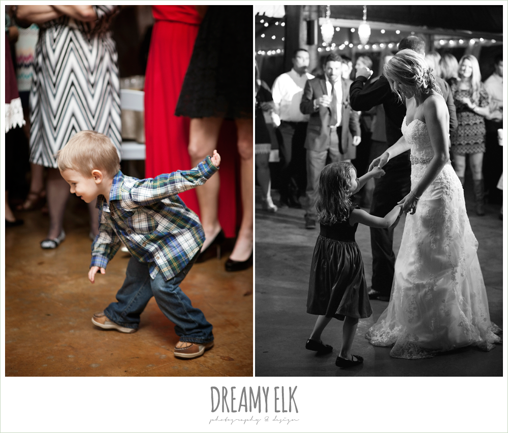 guests dancing at reception, fall wedding, rock lake ranch, dreamy elk photography and design