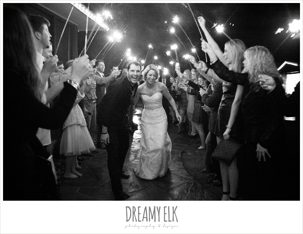 sparkler exit, fall wedding, rock lake ranch, dreamy elk photography and design