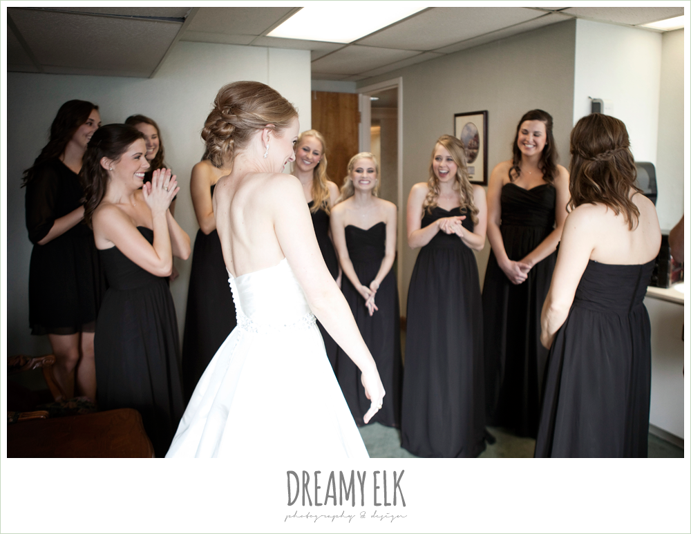 excited bride, winter wedding, austin wedding photographer, dreamy elk photography and design