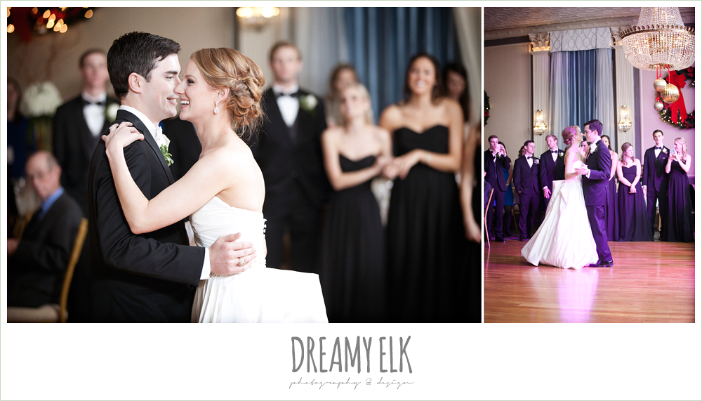 bride and groom dancing, winter wedding, austin wedding photographer, dreamy elk photography and design