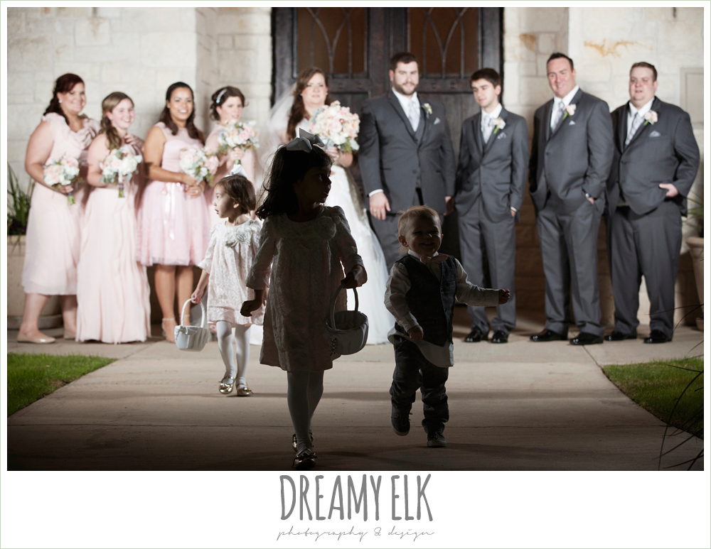 funny bridal party photo, houston winter wedding {dreamy elk photography and design}