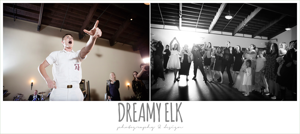 yell leader at wedding, briscoe manor, houston winter wedding photo {dreamy elk photography and design}