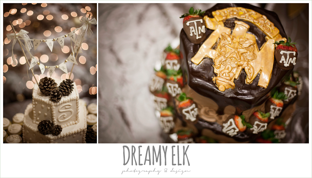 aggie groom's cake, fabulous fare wedding cakes, christmas wedding {dreamy elk photography and design} photo