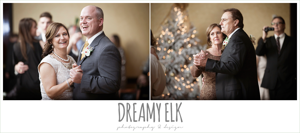 guests dancing, christmas wedding {dreamy elk photography and design} photo