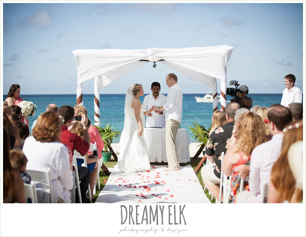 outdoor destination wedding, cozumel {dreamy elk photography and design} photo